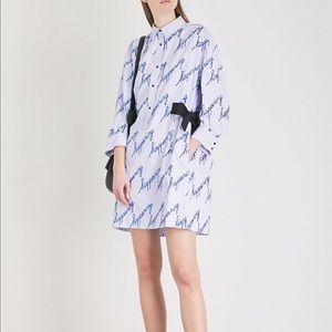 Sandro - Happening embellished shirt dress, 40